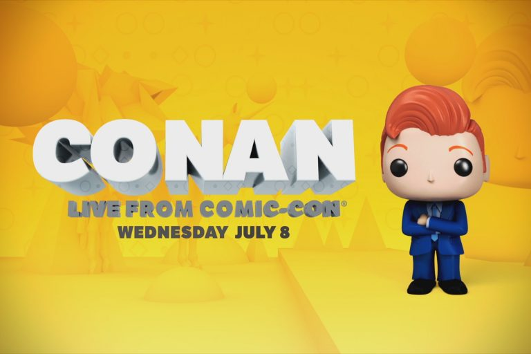Conan at Comic-Con 2015